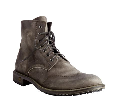 nason boots lyst nason rock lives brown washed suede