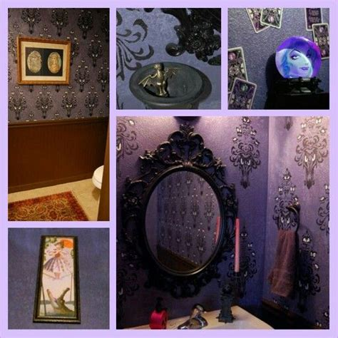 haunted mansion decor disney inspired pinterest my haunted mansion bathroom disney hauntedmansion