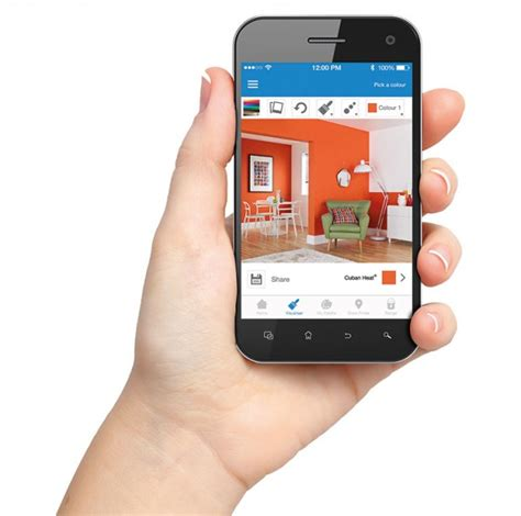 colour choice made easy with crown paints new app