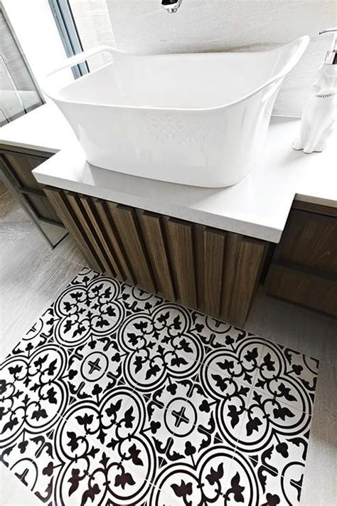 Patterned Bathroom Floor Tiles Uk by Get Creative With Geometric Tiles Livinghouse