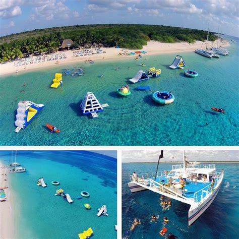 cozumel catamaran ferry cozumel catamaran snorkel beach party