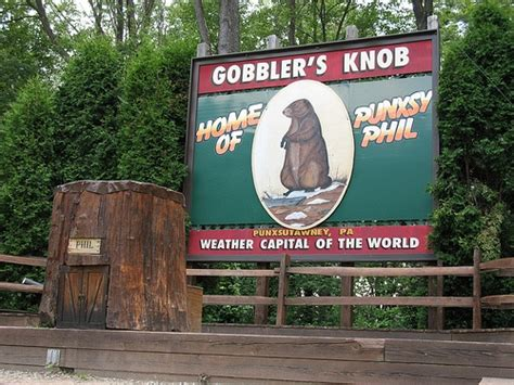 gobbler s knob punxsutawney pa places been things seen