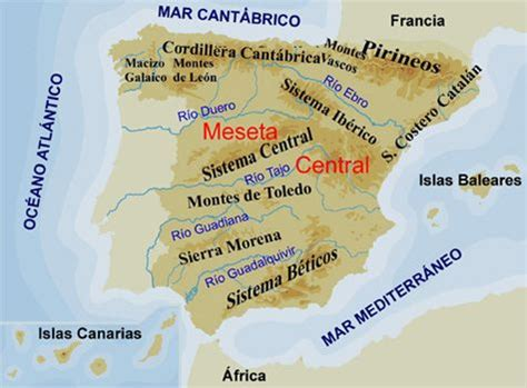 mapa cabos de espa a educarex es el relieve de espa 241 a monta 241 as cabos etc