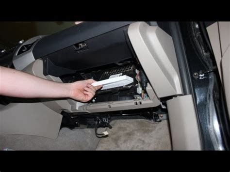 2006 Ford F150 Cabin Air Filter by Cabin Air Filter Location 2010 F150 Get Free Image About