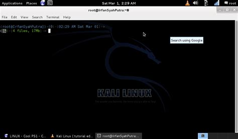 linux tutorial echo tutorial edit bash kali linux irfansyahputra