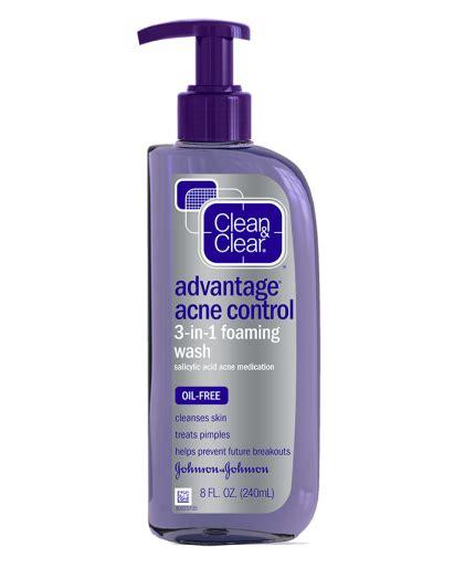 advantage 174 acne 3 in 1 foaming wash clean clear 174