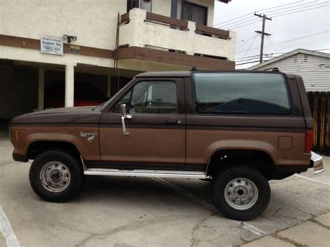 accident recorder 1990 ford bronco ii electronic toll collection service manual 1986 ford bronco ii how to replace the radiator buy used 1986 ford bronco ii