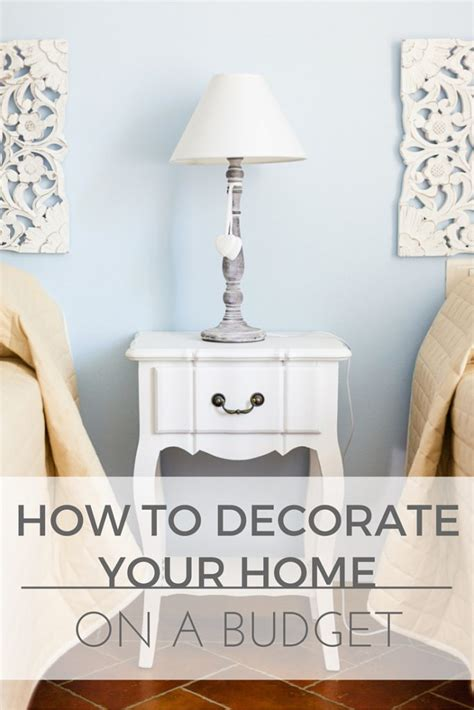 a house a home on a budget how to decorate on a