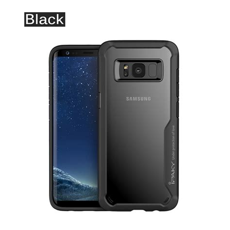 Samsung Galaxy S8 Plus Clear Back Tpu Air Softcase Hybrid Cover for samsung galaxy s8 s8 plus slim hybrid tpu clear back shockproof cover ebay