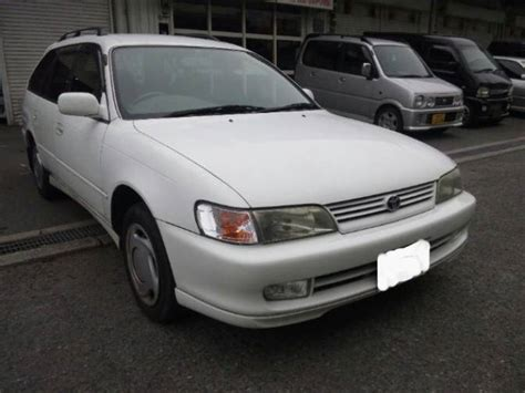 1998 toyota corolla wagon ae100g g touring for sale