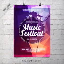 festival poster template abstract singing vectors photos and psd files free