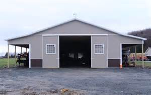 40 X 60 Pole Barn Metal Horse Barn Lean To Building Total Jpg Quotes