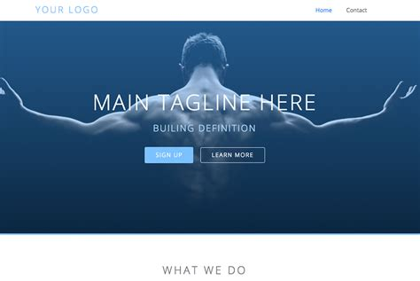 thumbnail layout definition personal trainer websites fitness marketing solutions