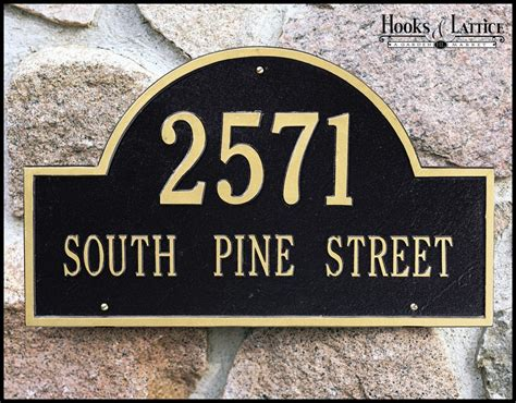 address plaques address signs decorative home