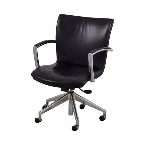 black leather desk chair 61 black leather desk chair chairs