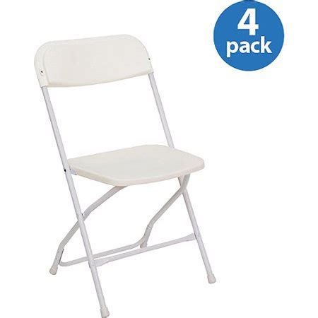 Heavy Duty Folding Chairs by Heavy Duty White Plastic Folding Chairs Set Of 4