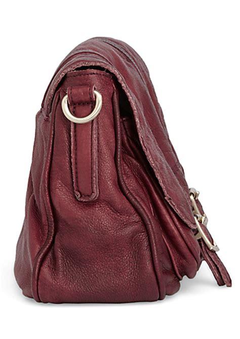 Viona Poket liebeskind viona dyed shoulder bag firebrick