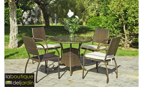 conjunto comedor jardin conjunto de muebles de exterior comedor modelo b 233 rgamo