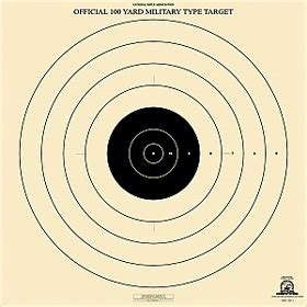 printable high power rifle targets official nra high power rifle targets long gun shooting