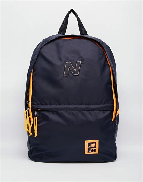 Backpack New Balance Blue new balance 410 backpack in blue for lyst