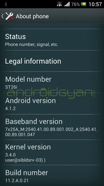 Hp Sony Pm 0160 Bv xperia j android 4 1 2 jelly bean firmware build number 11 2 a 0 21 rolled support forum