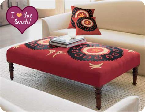 suzani bench exotic appeal suzani benches