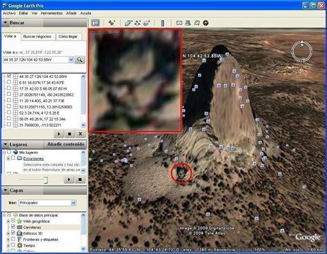 imagenes increibles google maps google earth rostro extra 241 o en la torre de diablo