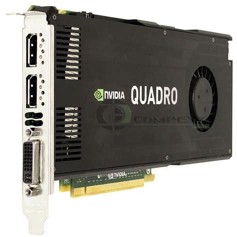 Vga Quadro K4000 nvidia ibm quadro k4000 3gb pcie 2 x16 graphics card gpu 03t8312 k4000 ibm 03t8312 682 50