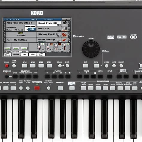 Keyboard Korg Pa600 Qt korg pa600 qt