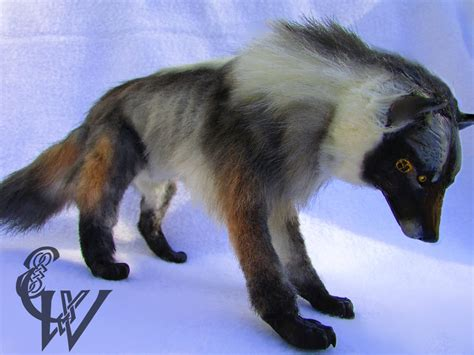 doll wolf skoll the prehistoric wolf doll by celtic wicca on