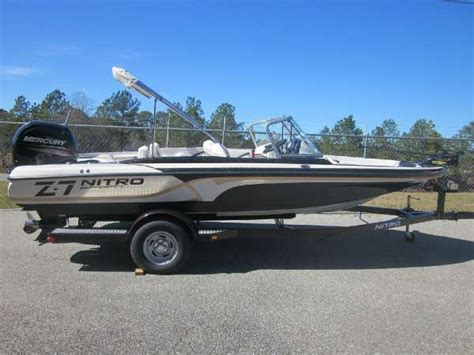 used nitro z7 bass boats for sale 2016 new nitro z7 sport ski and fish boat for sale