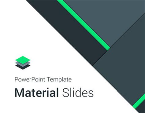 powerpoint template designer material design powerpoint template on behance