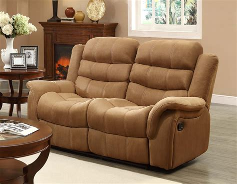 double seat recliner homelegance huxley love seat double recliner brown