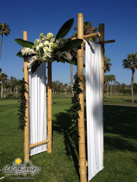 27 best images about Bamboo Weddings on Pinterest   Arbors