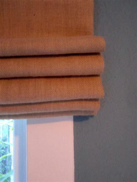 burlap window blinds 1000 ideas about burlap shades on