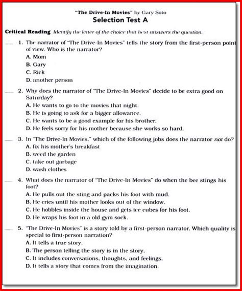 Science Worksheets For 6th Grade by Printables Science Worksheets For 6th Grade