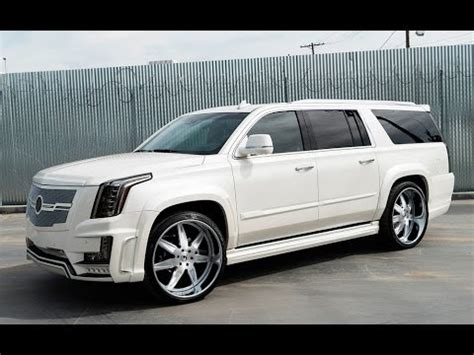 cadillac escalade 2017 custom 2016 custom cadillac escalade by forgiato