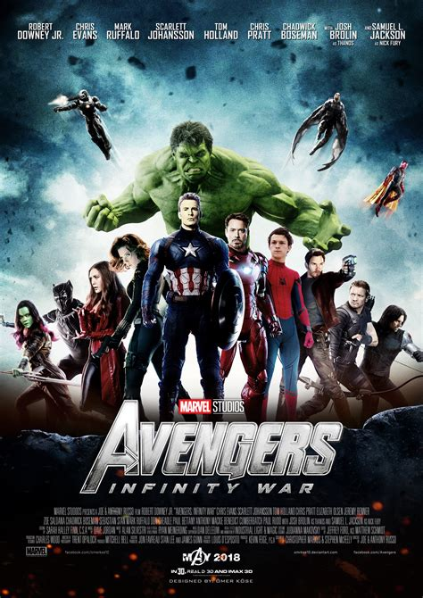 1 by infinity infinity war poster 1 by omrkse10 by omrkse10