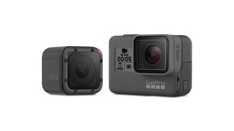 gopro new unveiled gopro hero5 black hero5 session and new