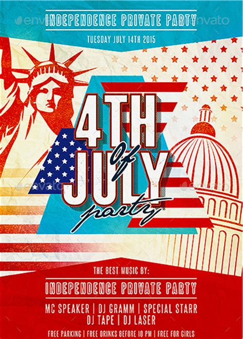independence day flyer 120 best 4th of july u s independence day flyers print