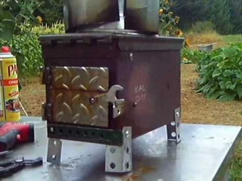 ammo box stove  grade youtube