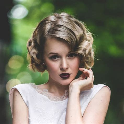 hairstyles 1920 s era mid length short curly hairstyles 14 best short curly haircuts for women
