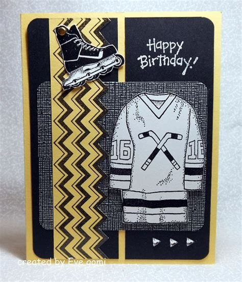 make a hockey card easy to make hockey birthday card crafts