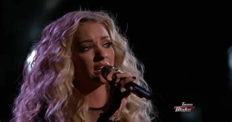 cowboy take me away the voice performance emily ann roberts the voice usa 2015 emily ann roberts quot burning house