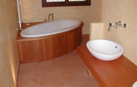 vasche legno rivestimento vasca da bagno legno