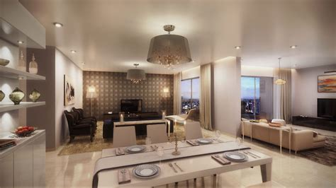 living room with dining area brigade cosmopolis photo gallery actual photos of model apartment