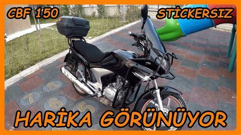 motosiklet sticker soekmek nasil yapilir cbf  youtube