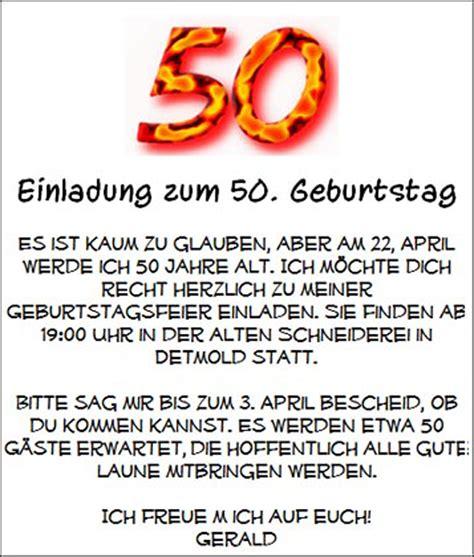 Hochzeit Einladungssprüche by Text Fur Einladungskarten Zum 50 Ourpath Co