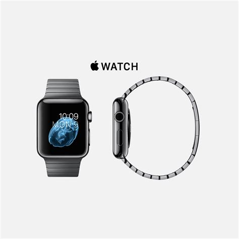 Apple Space Black Stainless Steel Wth Space Black Milanese 42mm apple apple space black stainless steel with space black stainless steel link