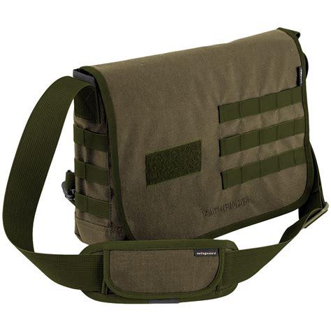 Shoulder Bag by Wisport Pathfinder Shoulder Bag Olive Drab Shoulder Bags